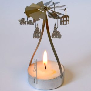 Dresden Teelichtpyramide Karusell Souvenir Geschenkidee