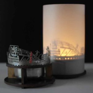 Wuppertal Skyline Souvenir Andenken City Light Silhouette Geschenk Premium Box
