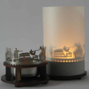 Rom Skyline Souvenir Andenken City Light Silhouette Geschenk Premium Box