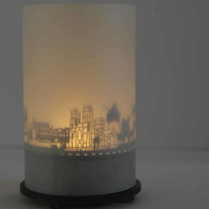 York Skyline Souvenir Andenken City Light Silhouette Geschenk Premium Box