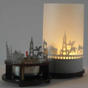 Ulm Skyline Souvenir Andenken City Light Silhouette Geschenk Premium Box