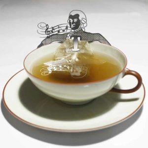 Mozart Teebeutehalter Geschenk Geschenkidee Witzig Kreativ